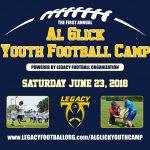 Al Glick Youth Football Camp June 23rd