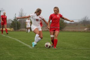 Varsity Girls Soccer vs Coldwater 5/2/18