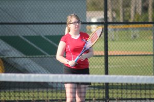 Girls Tennis vs Eaton Rapids