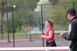 Girls Tennis vs Leslie