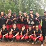 Varsity Softball Splits with Western, Earns Conference Championship