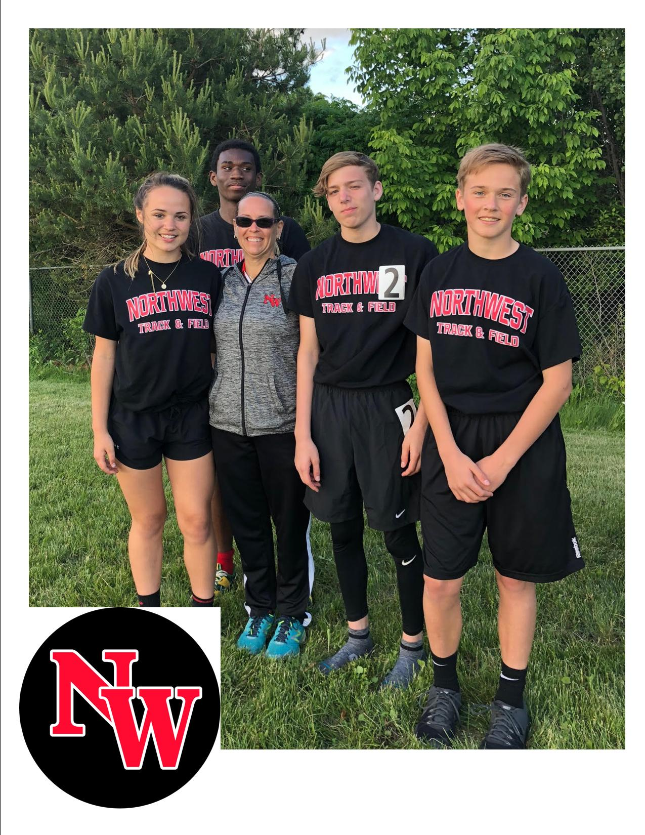 MS Track Competes In The Mega Star Meet