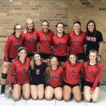Freshman Volleyball Advances to Semis at I-8 Tournament