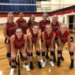 8th Grade Volleyball Sweeps Marshall