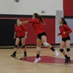 JV Volleyball competes at the Spring Arbor Invite
