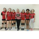 7th Grade B Volleyball Finishes Strong