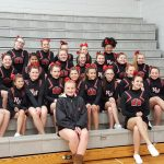 MS Cheer Competes at Leslie