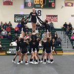 Girls Varsity Competitive Cheer finishes 4th place at I-8 Jamboree @ Pennfield