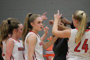 JV Girls Basketball vs Coldwater
