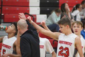 Freshman Boys Basketball vs Hastings