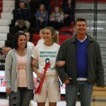 Varsity Girls Basketball Senior Night vs Haslett