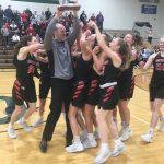 Varsity Girls Basketball Wins District Title!