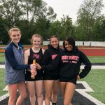 Girls Track Competes at the Selby Meet