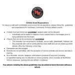 New Athletic Event Expectations! Please Read