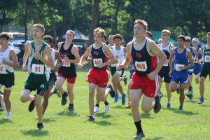 Boys Cross Country at Jackson Invite
