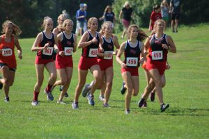 Girls Cross Country at Jackson Invitational