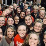 Varsity Volleyball Sweeps Hastings in 3!