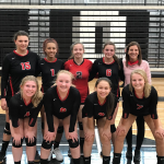 Freshman Volleyball Results from Dansville Invite