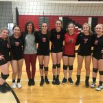 Freshman Volleyball Finishes the Season with 2 Wins!