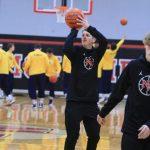 Varsity Boys Basketball vs Hastings- Courtesy of Kelly Grygiel