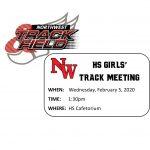 Girls Track Meeting!!!