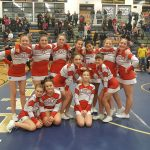 Middle School Cheer Results at I-8 Jamboree in Hastings