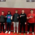 Northwest Wrestling Qualifies 5 for Regionals