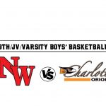 Upcoming Event:   9TH/JV/VARSITY BOYS' BASKETBALL vs. CHARLOTTE
