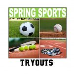 HS Spring Sports Tryout Dates/Times