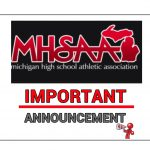 MHSAA Update:7/29/20-Important Info