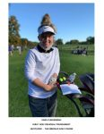 Kara Clingerman Wraps Up Her 2020 Girls' Golf Season at the Regional Tournament