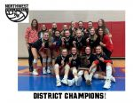 Varsity Volleyball – DISTRICT CHAMPS!