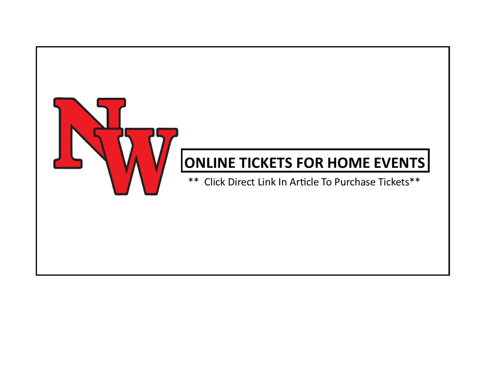 Direct Link to Online Tickets to NW HOME Events