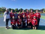 Girls Tennis Battles Hillsdale