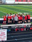 Varsity Soccer Battles Marshall