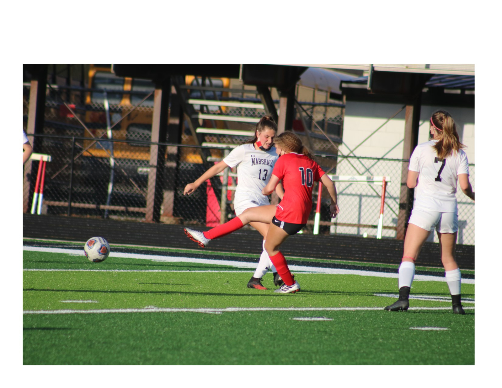 Vars. Girls' Soccer vs. Marshall – PHOTO GALLERY