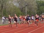 HS Girls' Track – Medal Winners at Hillsdale Invitational