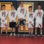Knights wrestlers had five individual champs! Team finished 4 -1 at Milan 6-way