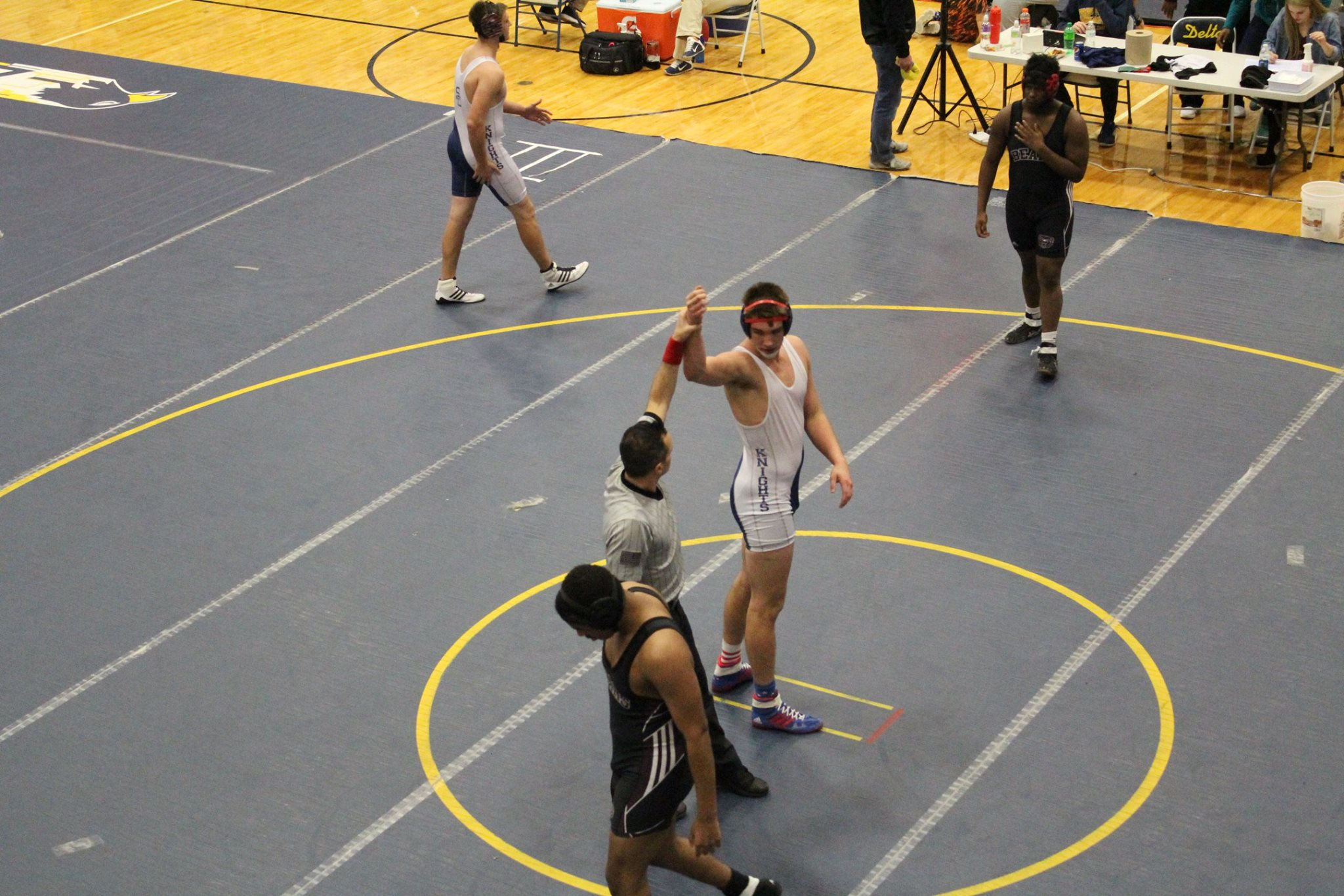 South Dearborn Wrestlers traveled to the Delta Duals in Muncie on December 9th
