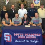 Madison Fentress signs to play soccer for Hanover College!