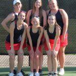 SD Girls Varsity Tennis Honors Seniors