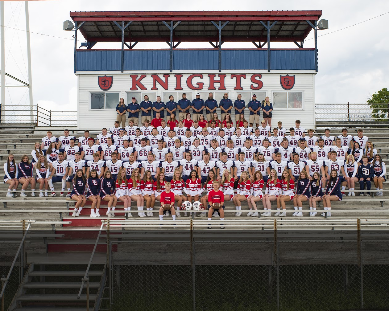 KNIGHTS HOST THE FIRST ROUND OF THE IHSAA CLASS 4A FOOTBALL SECTIONAL #23 THIS FRIDAY