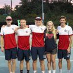 Knights Boys Varsity Tennis Honors Seniors Last Night