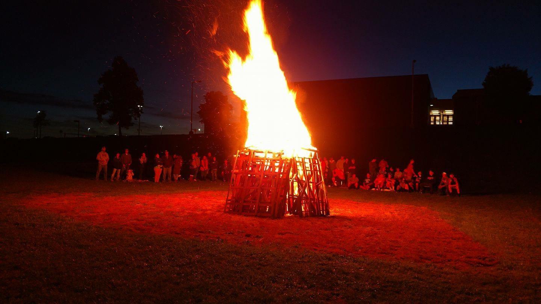 SD Knights Football Annual Bonfire This Thursday!