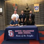 Ashley Bishop signs to play soccer at Anderson University!
