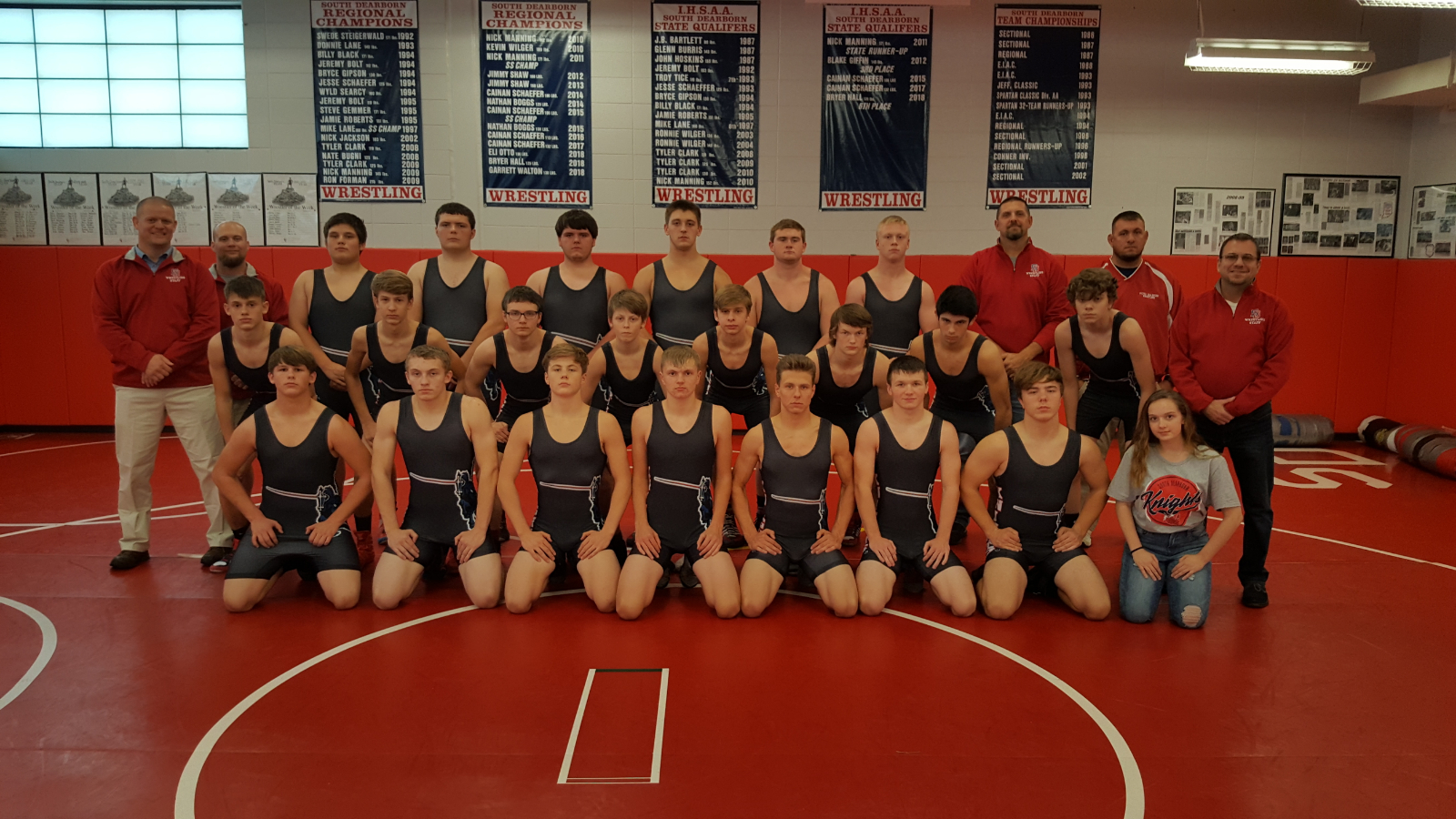 Knights Grapplers Battled at the Delta Duals on Saturday