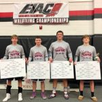 Knights Wrestlers Finish 3rd in the EIAC Conference at East Central