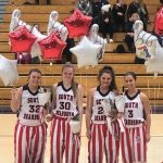 The Lady Knights Basketball Program Honors the Seniors and Takes Down Franklin County