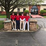 The Knights finished 6th in the 13 field at Winchester Golf Invitational on Saturday