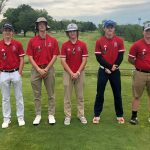 Knights Golf Team Wins Quad Match at Hidden Valley